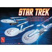 1/2500 Star Trek Enterprise Set (3-N-1)