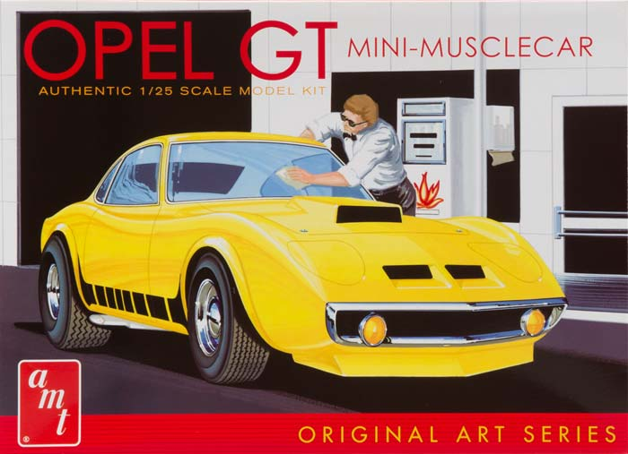 AMT 1/25 Buick Opel GT