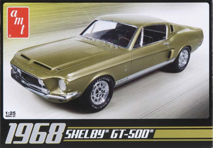 AMT by Round 2 1/25 1968 Shelby GT500