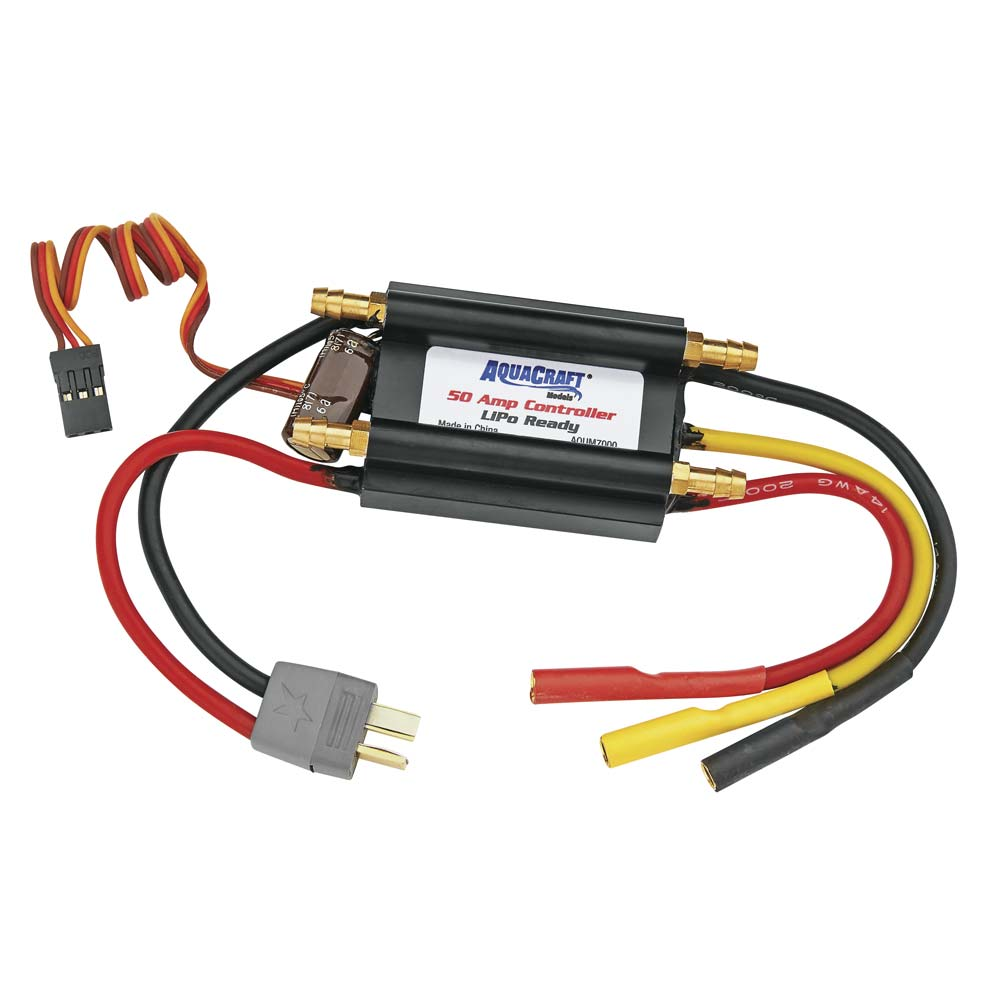 50-Amp 14V Water Cooled Marine Controller LiPO Ready