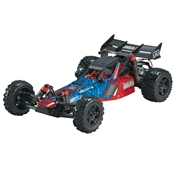 ARRMA 1/10 RAIDER MEGA Brushed RTR Red/Blue