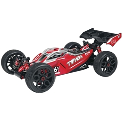 ARRMA TYPHON 6S 4WD RTR Red-Black
