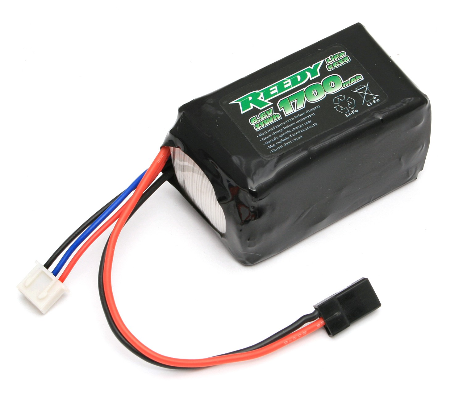 Reedy 1700mAh 6.6V Life Rx Battery