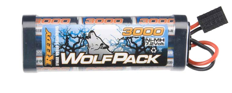 Reedy Wolfpack 3000mAh 7.2V NiMH Pack - Traxxas Connector