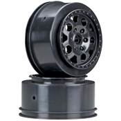 Associated KMC Wheel FR Black SC10