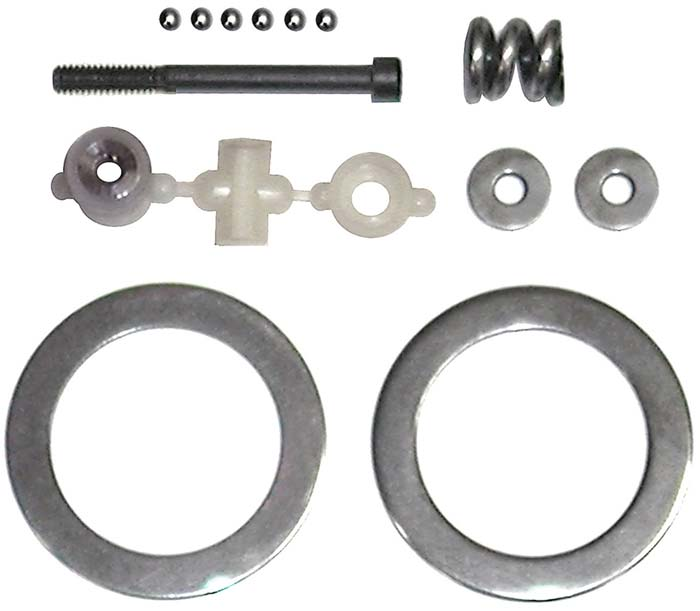 Associated Differential Rebuild Kit GT