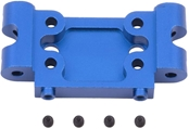Associated Aluminum Front Bulkhead Blue GT2