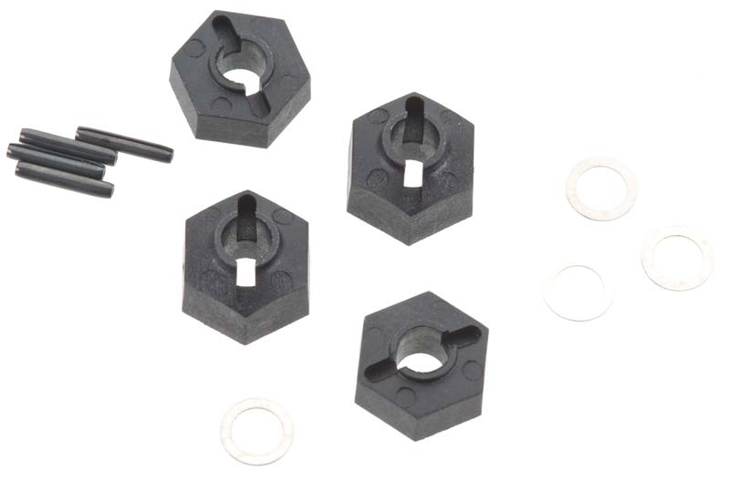 Associated 9883 Wheel Hex Adapters SC10