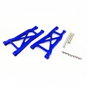 Atomik RC Alloy Rear Lower Arm, Blue fits the Traxxas 1/10 Slash 2WD