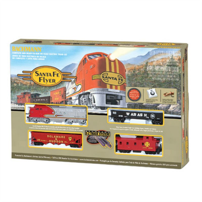Santa Fe Flyer HO Set - BAC00647