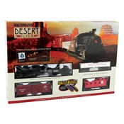 Bachmann Desert Flyer Complete And Ready-To-Run HO Scale Electric Train Set. Ez Track System.
