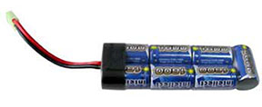 G&P / Intellect 8.4V Small Type NiMh High Output 1600 mAh Airsoft Battery Pack