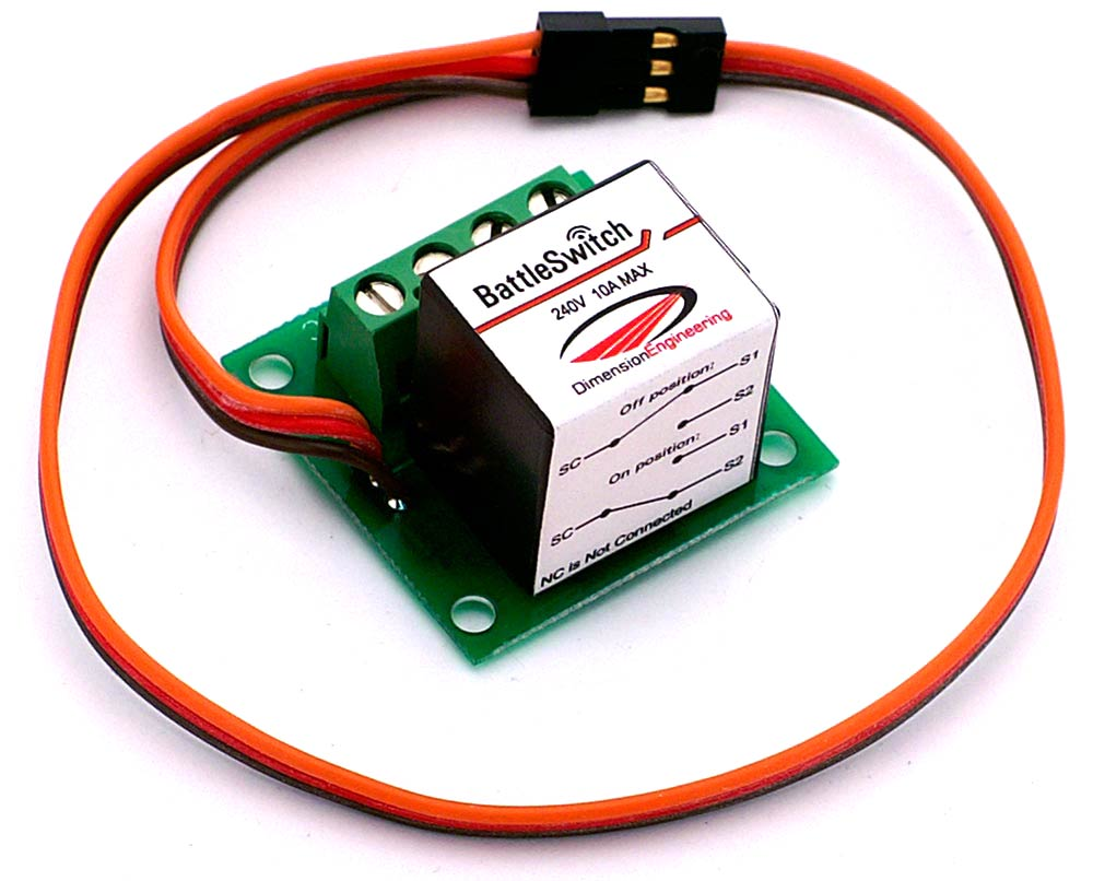 BattleSwitch 10A R/C Switch