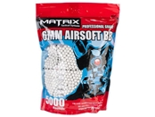 Matrix 0.28g Match Grade Airsoft BBs - 5000 White