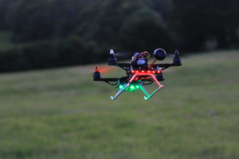 MINI 250 FRAME WITH 2300KV, MINI 20AMP ESC, 5030 PROP, CCED, LED LIGHT - BG250