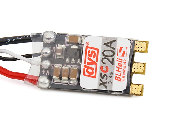 DYS Speed Controller 20amp Blheli_S Firmware