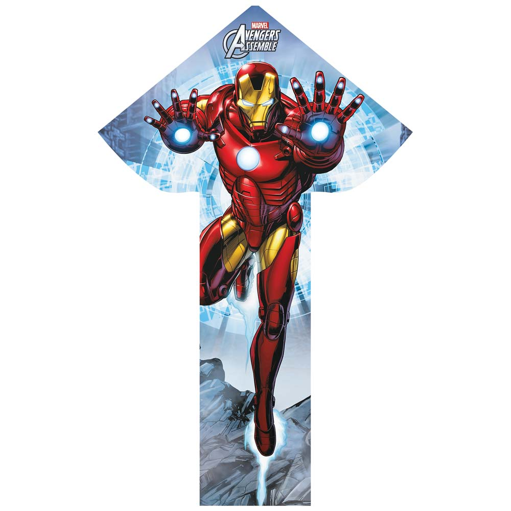 BrainStorm WNS Breezy Flyer Avengers Iron Man 57 Kite