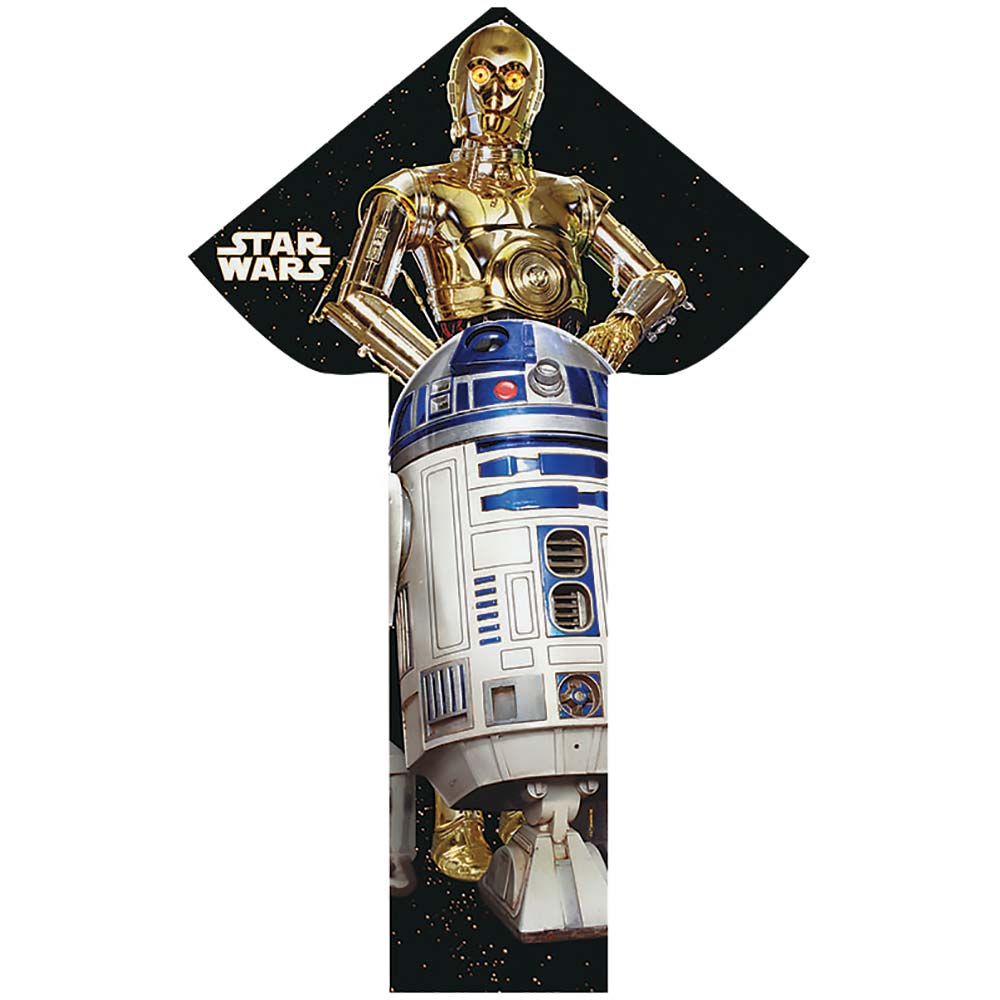 BrainStorm WNS Breezy Flyer Star Wars R2D2/C3PO Kite