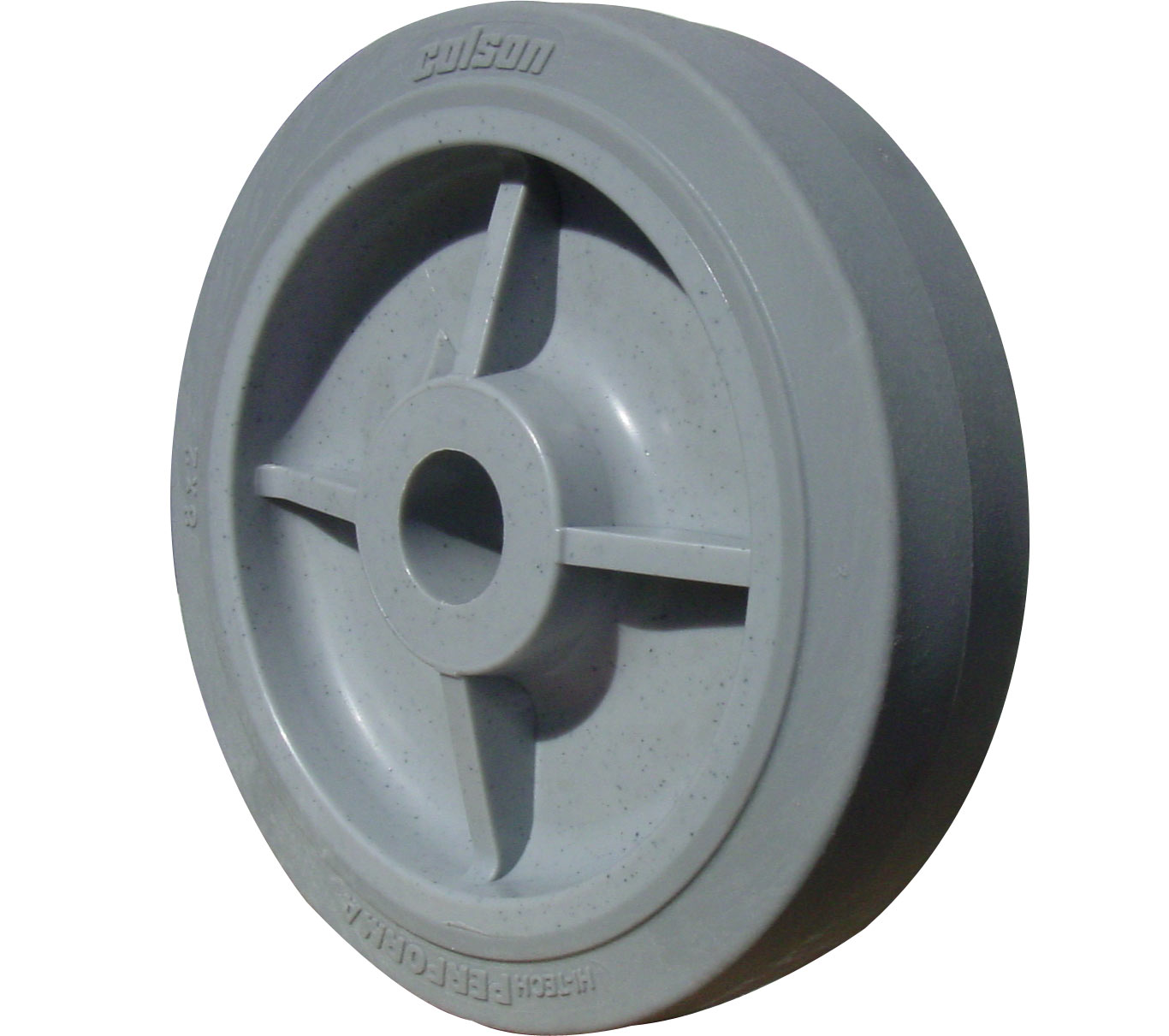 Colson Performa Wheel 8 x 2 grey
