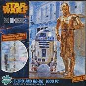 C-3P0 & R2-D2 Photomosaic Puzzle 1000 Pc