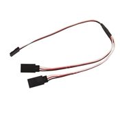 12 Inch Universal Y-Adapter Cable