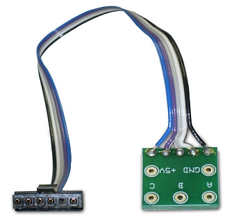 RoboteQ ABC Single Hall Cable for Single Channel Brushless Controllers