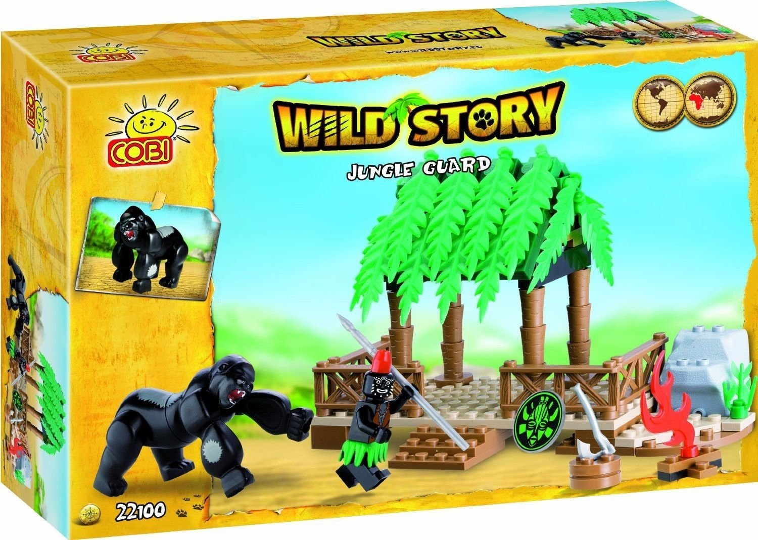 Cobi Wild Story - Jungle Guardian 100pc