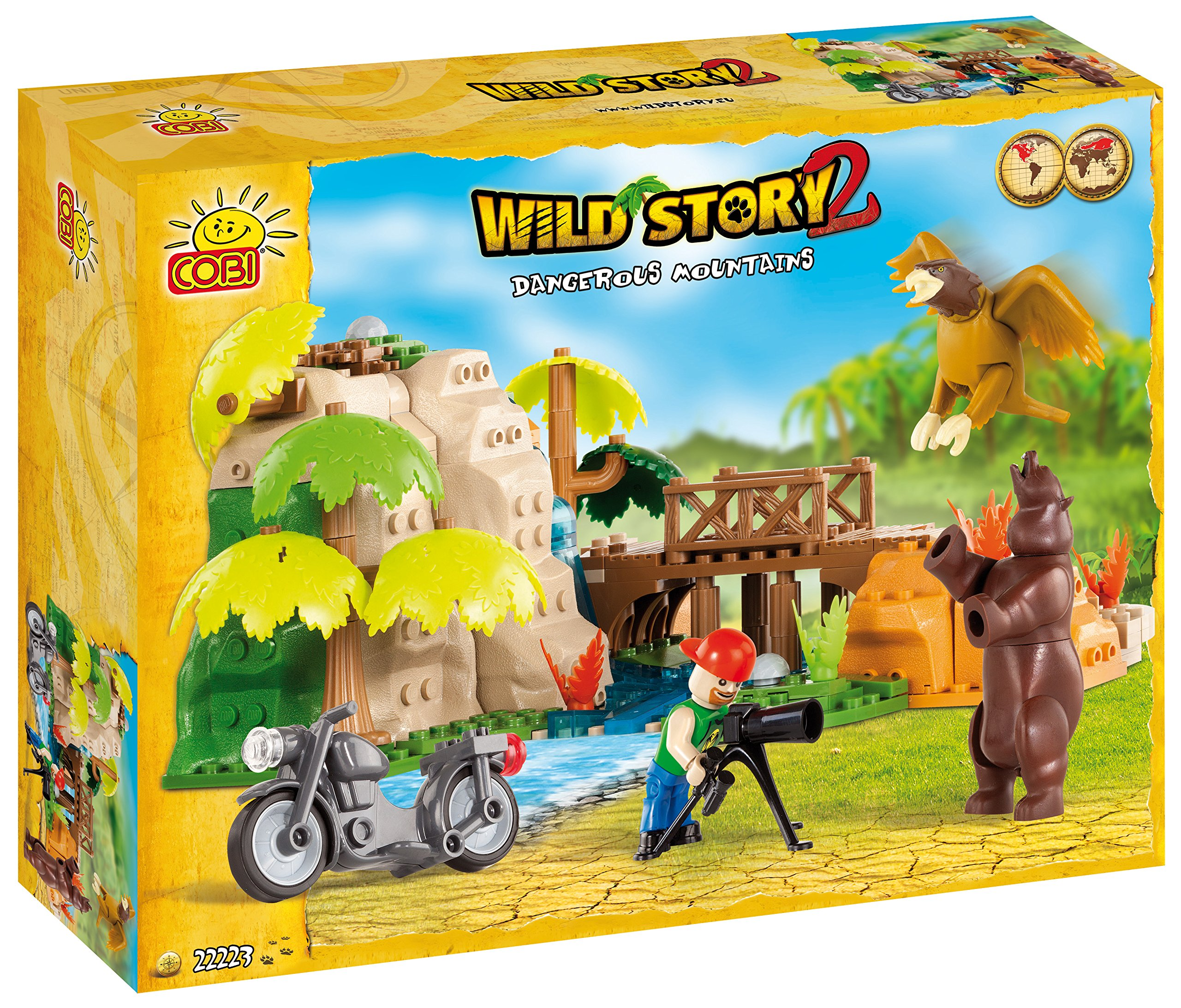 Cobi Wild Story - Dangerous Mountains