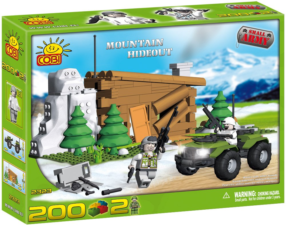 Cobi Military - Mountain Hideout 200 pc