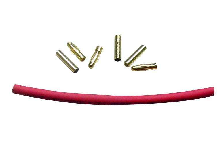 3mm Bullet Connector - Set of 3