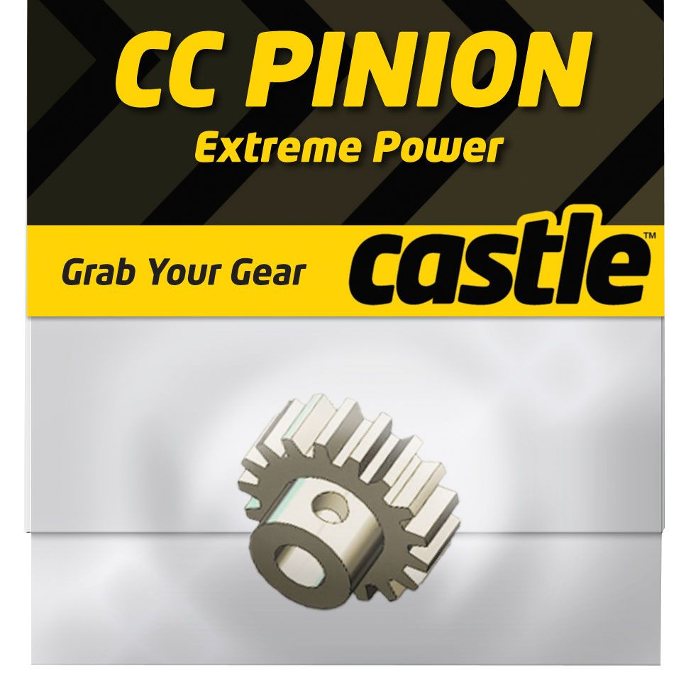 Castle Creations CC Mod 1 Pitch Pinion Gear, 21T