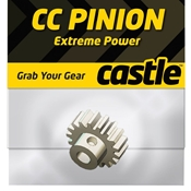 Castle Creations CC Mod 1 Pitch Pinion Gear, 17T