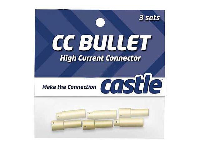 Castle High Current 5.5mm Bullet Connector
