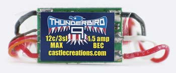 Thunderbird 9 Brushless Speed Controller