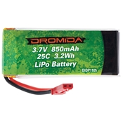 LiPo 1S 3.7V 850mAh 3.7V Vista UAV Battery