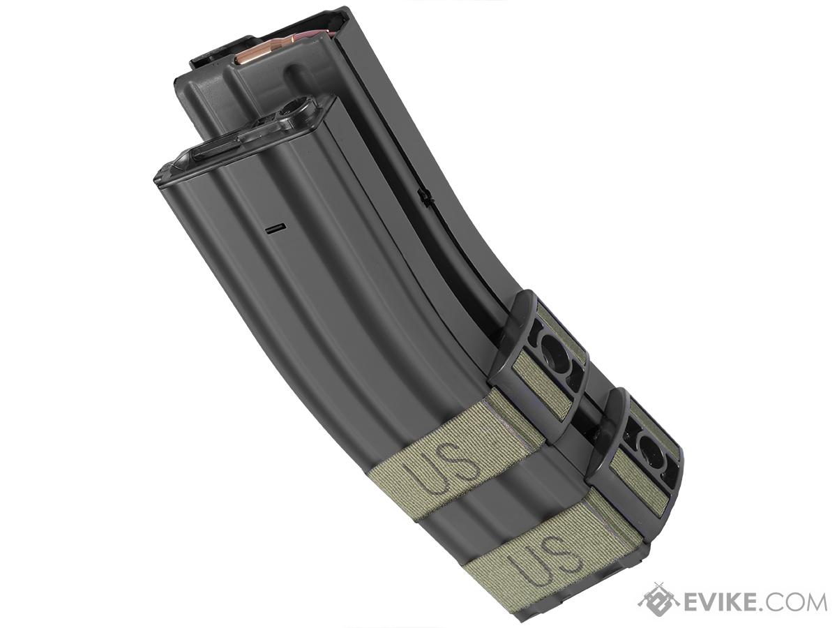 1300rd Electric Auto Winding Dual Mag for M4/M16 Series AEG - Black