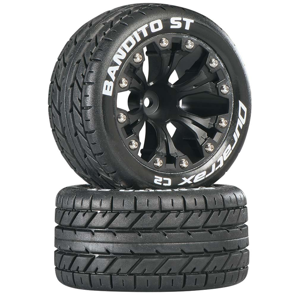 Bandito ST 2.8 Truck Mntd 1/2 Offset C2 Blk (2)