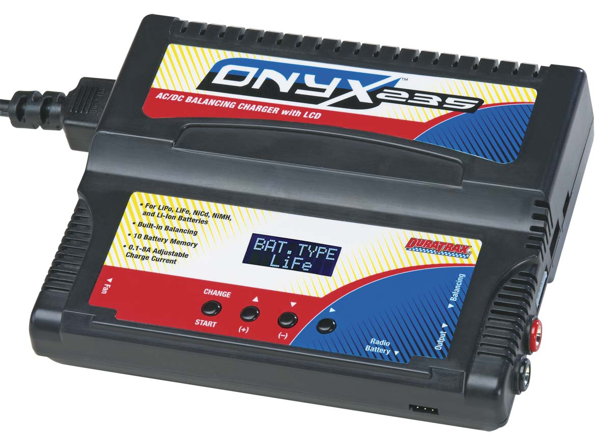 DuraTrax Onyx 235 AC/DC Advanced Charger w/Balancing LCD