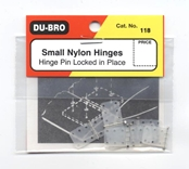 Dubro Hinge, Nylon, Small (6)