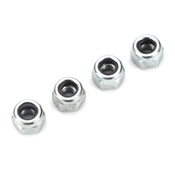Dubro 3mm Nylon Insert Lock Nuts