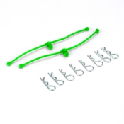 Body Klip Retainers ( Lime Green )