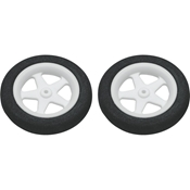2.50in. Micro Sport Wheels 2pk