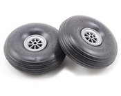 3 1/4 Inch Diameter Treaded Lite Wheel 2pk