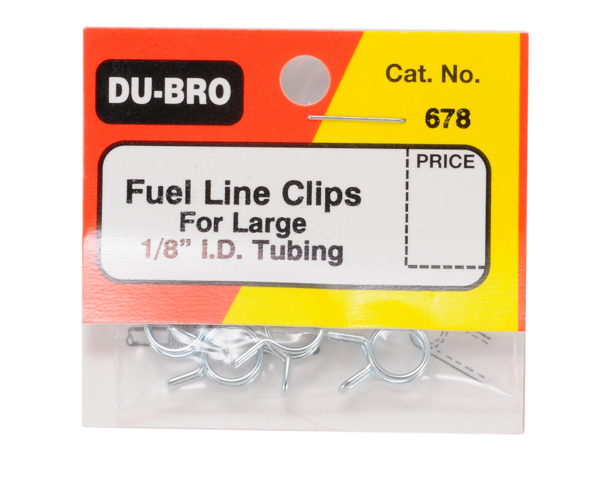 Dubro Fuel Line Clips, Large   - DUB678