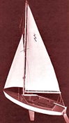 1110 Lightning Sailboat 19  Kit