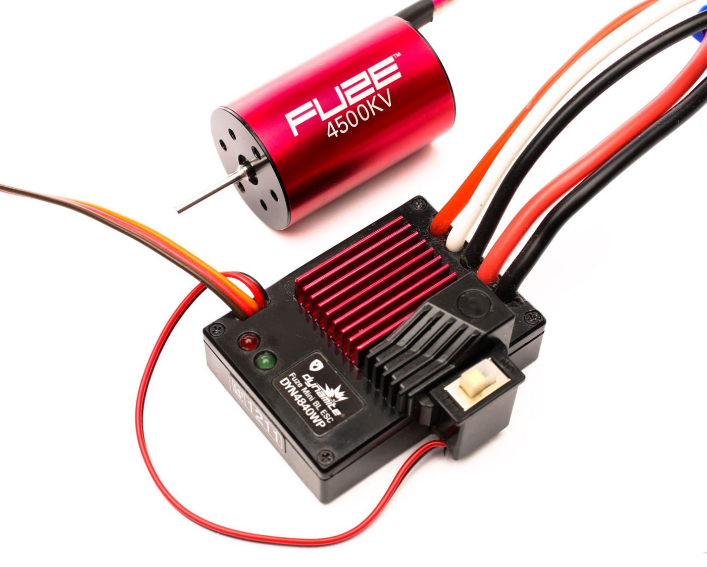 Fuze Mini Brushless Combo: 4500Kv