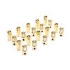 Gold Bullet Connector Set, 6.5mm (10)