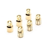 Gold Bullet Connector Set, 8.0mm (3)