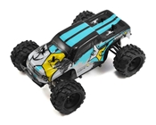 Ruckus 1:24 4wd Monster Truck: Black/White RTR