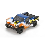 1/24 Torment 4WD Short Course Truck RTR, Black/Orange